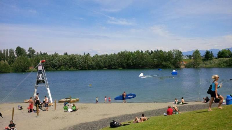 Aldergrove lake swimming