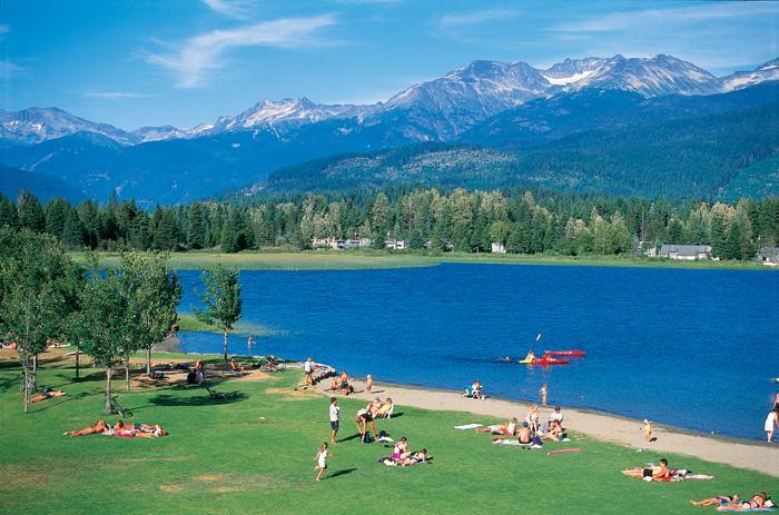 Alta Lake - Hostel Beach - Swim Guide